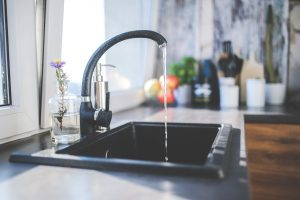 faucet types like a ball type faucet